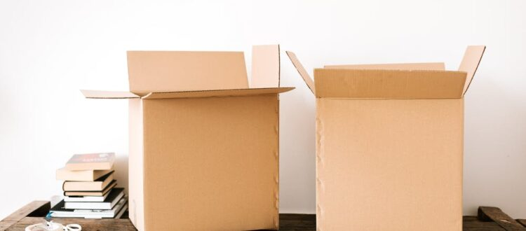 Moving Boxes in Santa Rosa